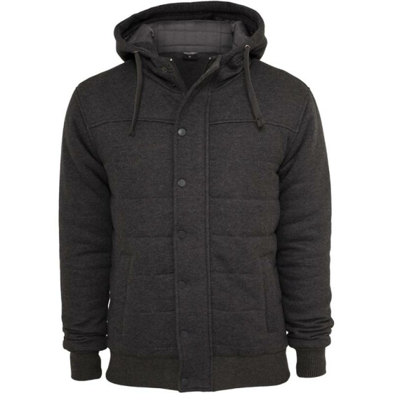 Urban Classics Sweat Winter Jacket, charcoal