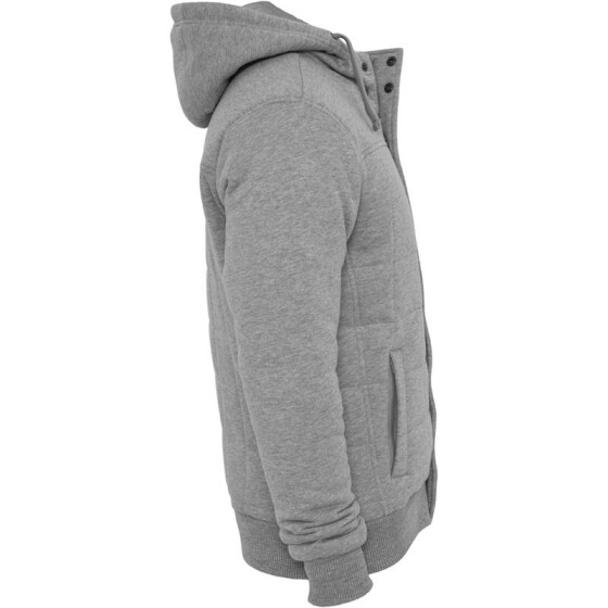 Urban Classics Sweat Winter Jacket, grey
