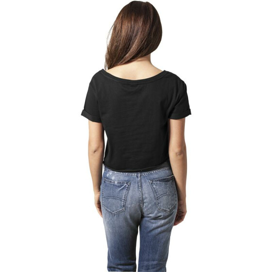 Urban Classics Ladies Short Tee, black