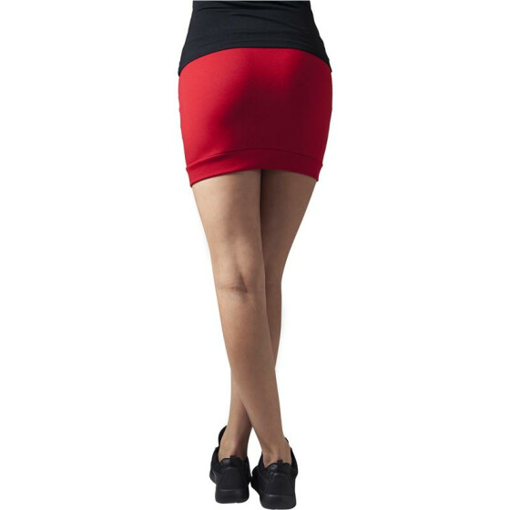 Urban Classics Ladies French Terry Skirt, red