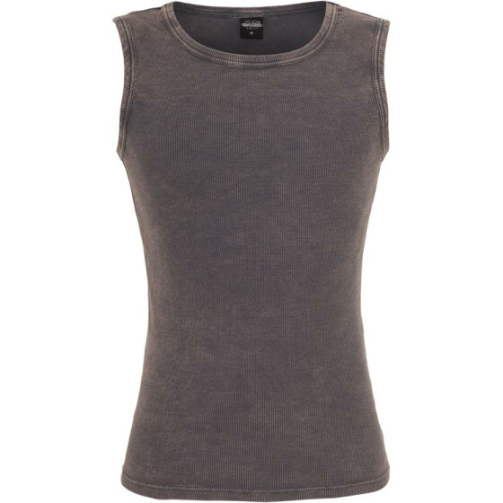 Urban Classics Faded Tanktop, darkgrey