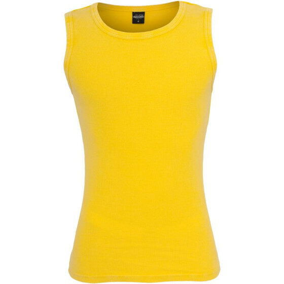 Urban Classics Faded Tanktop, yellow