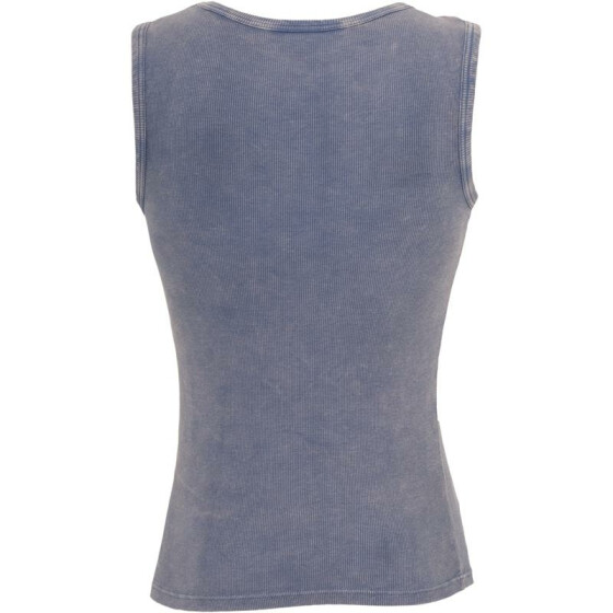 Urban Classics Faded Tanktop, denimblue