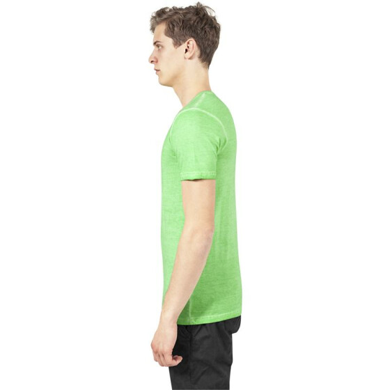 Urban Classics Spray Dye V-Neck Tee, mint
