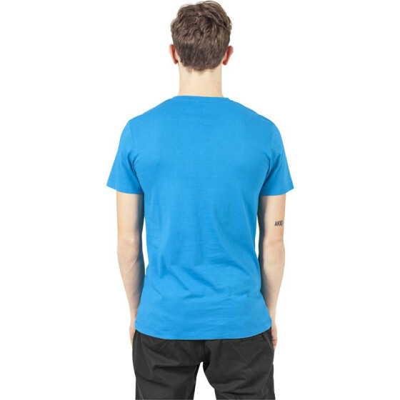 Urban Classics V-Neck Pocket Tee, turquoise
