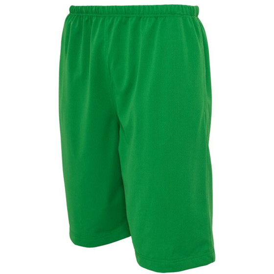 Urban Classics BBall Mesh Shorts with Pockets, c.green