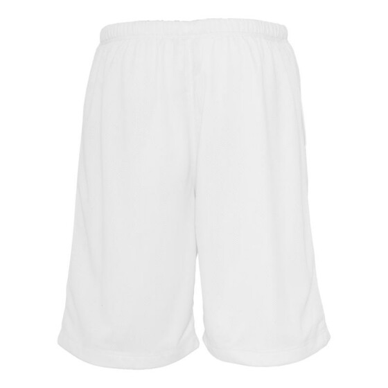 Urban Classics BBall Mesh Shorts with Pockets, white