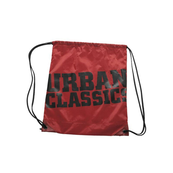 Urban Classics UC Gym Bag, red/blk
