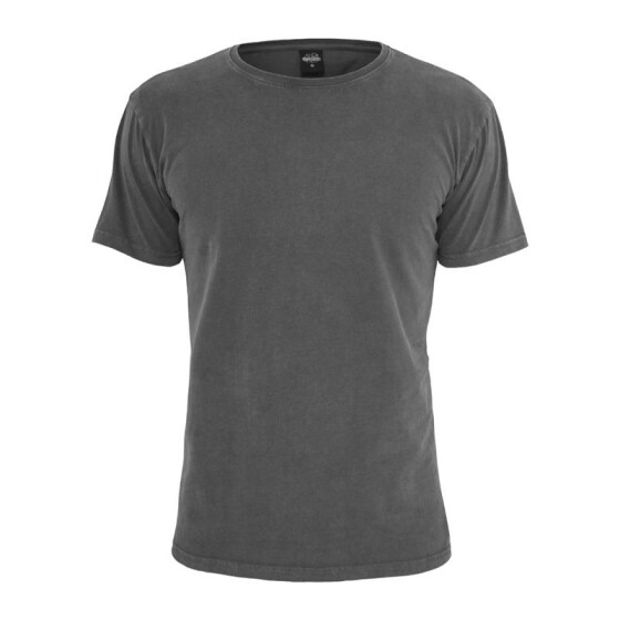Urban Classics Heavy Peached Tee, darkgrey