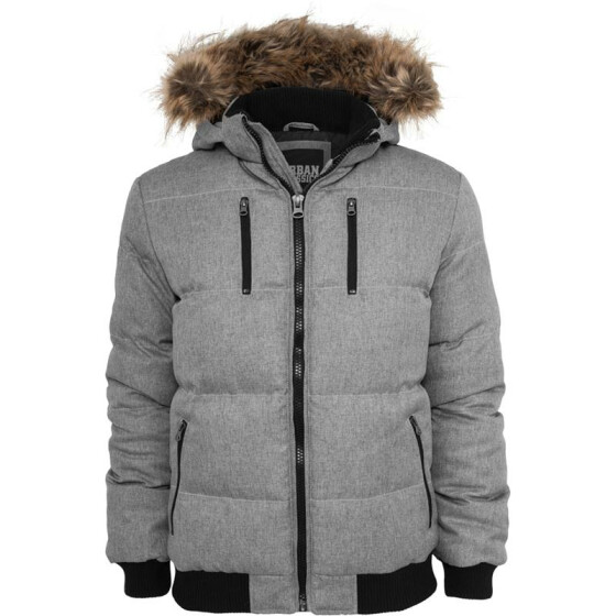 Urban Classics Melange Expedition Jacket, greymelange