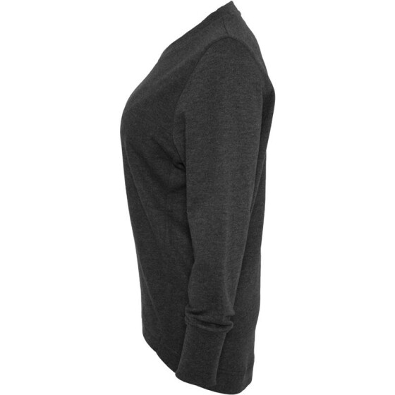 Urban Classics Ladies Crewneck, charcoal