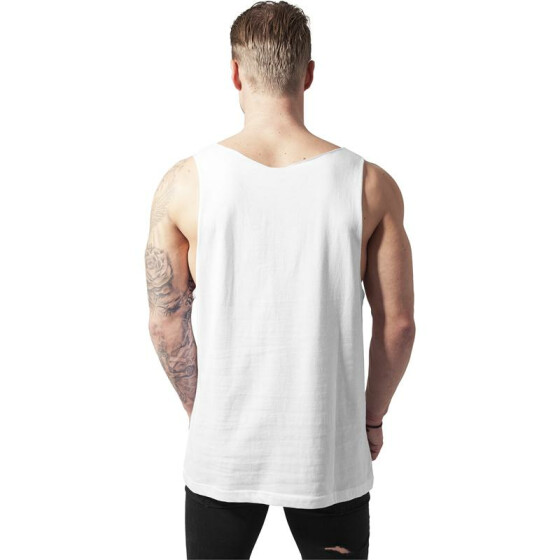Urban Classics Open Edge Loose Tank, white
