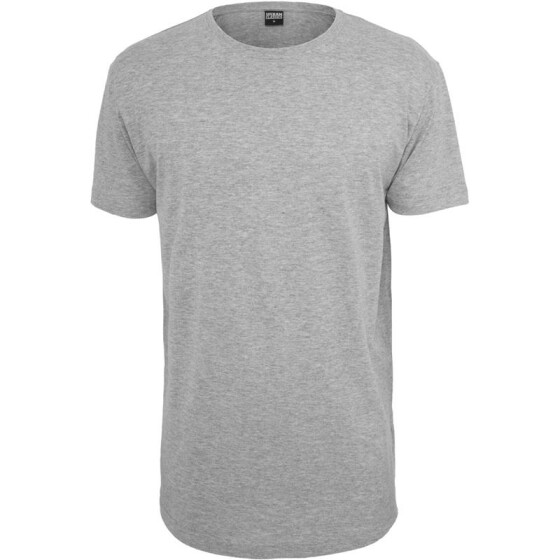 Urban Classics Shaped Long Tee, grey