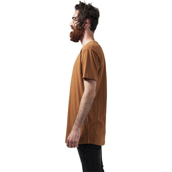 Urban Classics Shaped Long Tee, toffee