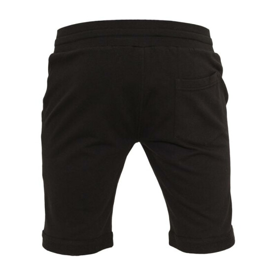 Urban Classics Light Turnup Sweatshorts, black