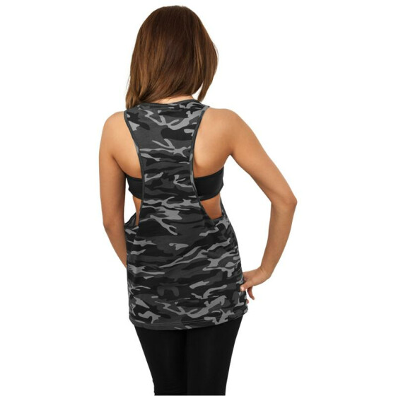 Urban Classics Ladies Camo Loose Tank, urban camo
