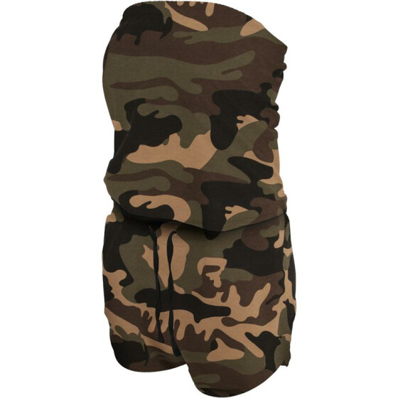 Urban Classics Ladies Camo Hot Jumpsuit, wood camo