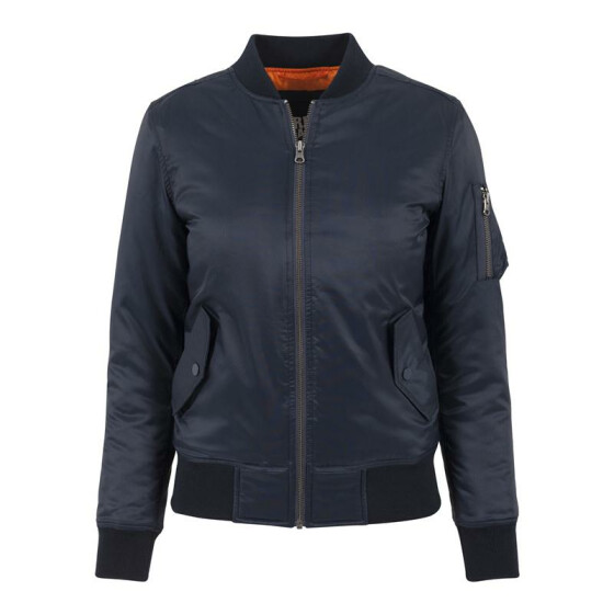 Urban Classics Ladies Basic Bomber Jacket, navy