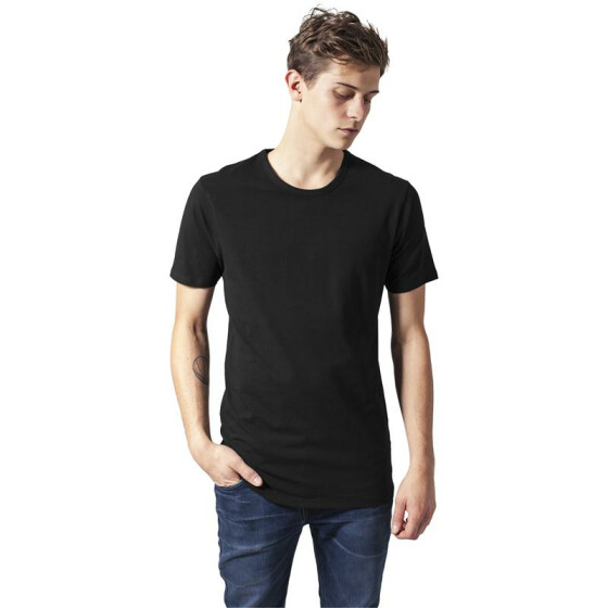 Urban Classics Fitted Stretch Tee, black