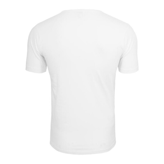 Urban Classics Fitted Stretch Tee, white