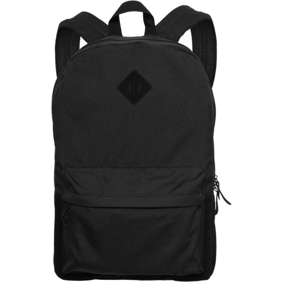 Urban Classics Backpack Leather Imitation, blk/blk