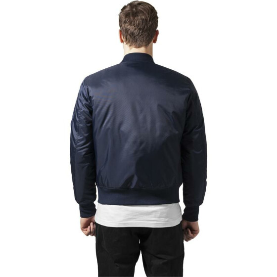Urban Classics Basic Bomber Jacket, navy