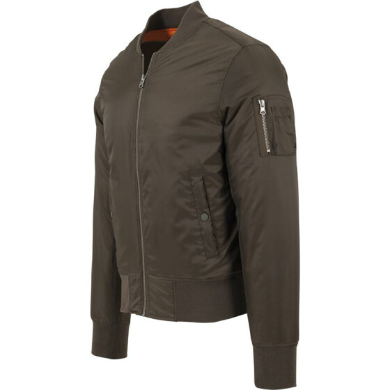 Urban Classics Basic Bomber Jacket, darkolive