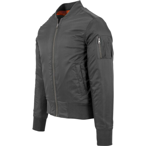 Urban Classics Basic Bomber Jacket, cool grey