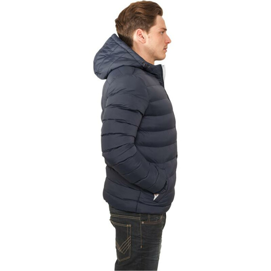 Urban Classics Basic Bubble Jacket, nvy/wht/nvy