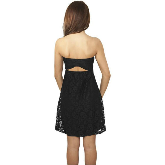 Urban Classics Ladies Laces Dress, black