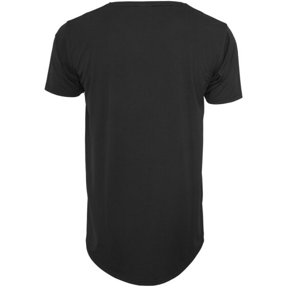 Urban Classics Shaped Neopren Long Tee, black