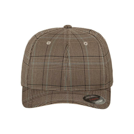 Flexfit Glen Check, brn/khaki S/M