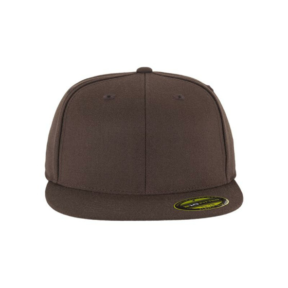 Flexfit Premium 210 Fitted, brown L/XL