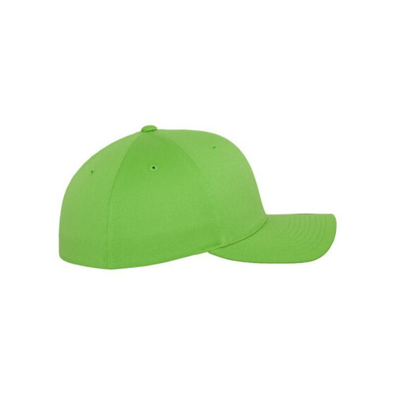 Flexfit Wooly Combed, fresh green Youth