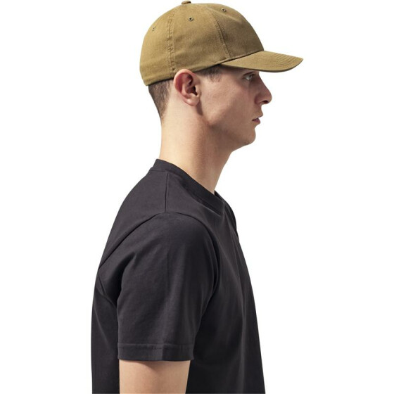 Flexfit Garment Washed Cotton Dad Hat, loden S/M