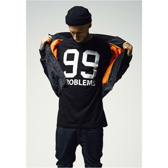 Mister Tee 99 Problems T-Shirt, black XS