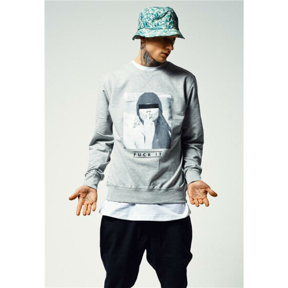 Mister Tee F#?KIT Crewneck, grey M