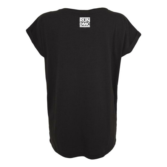 Mister Tee Ladies Run DMC Logo Tee, black M
