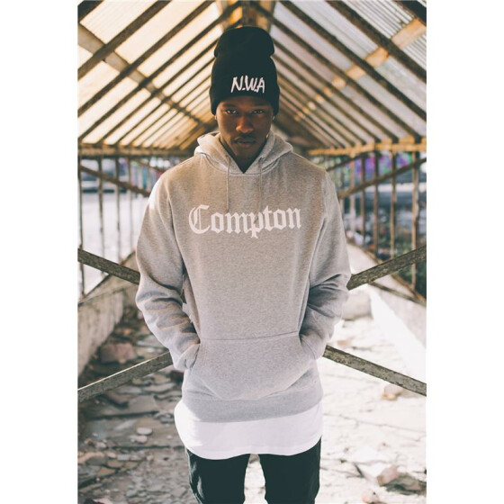 Mister Tee Compton Hoody, heather grey XS