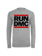 Mister Tee Run DMC Logo Crewneck, h.grey M