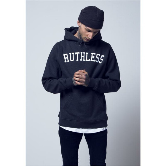 Mister Tee Ruthless Hoody, charcoal XS