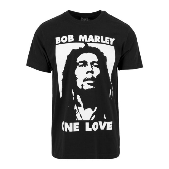 Mister Tee Bob one Love Tee, black XXL