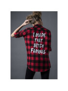 Mister Tee Famous Shirt, blk/red XL