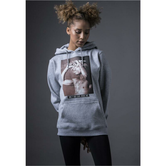 Mister Tee O.G.C.J.M Hoody, heather grey L