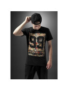 Mister Tee 99 Problems Block Camo Tee, black L