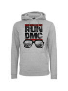 Mister Tee RUN DMC City Glasses Hoody, heather grey XL