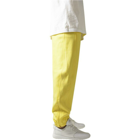 Urban Classics Sweatpants, yellow 3XL