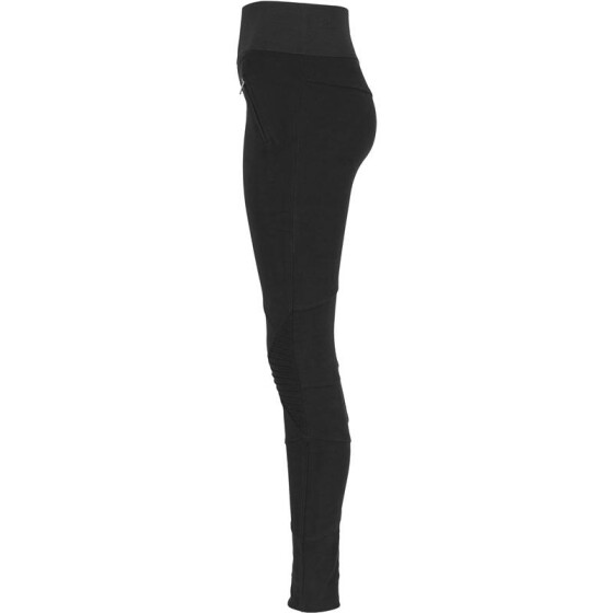 Urban Classics Ladies Interlock High Waist Leggings, blk/blk L