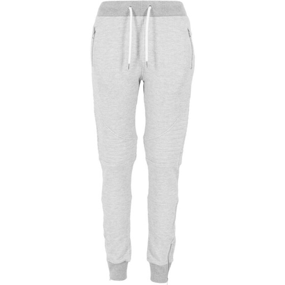 Urban Classics Ladies Melange Biker Sweatpants, gry/gry M