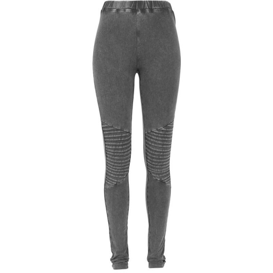 Urban Classics Ladies Denim Jersey Leggings, darkgrey XS